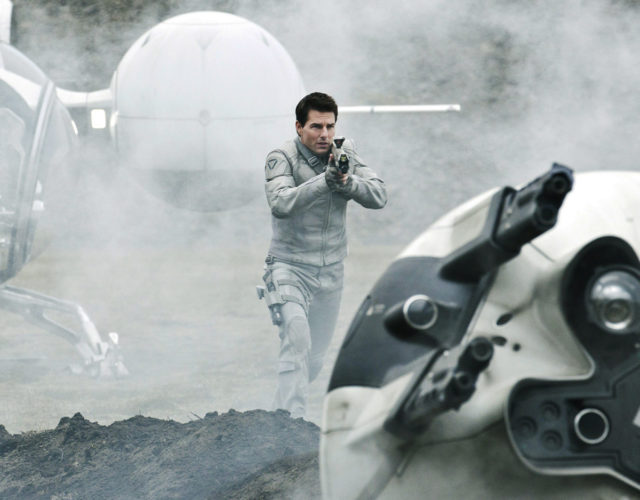 tom cruise movie shot in outer space